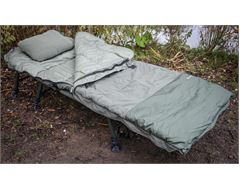 Bedchair, Sleeping Bag & Pillow Bundle