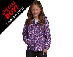 Kids' Printed Pack-it Jacket