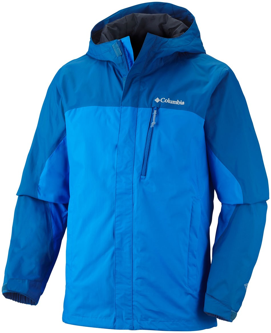 Columbia Men's Pouring Adventure Waterproof Jacket | GO Outdoors