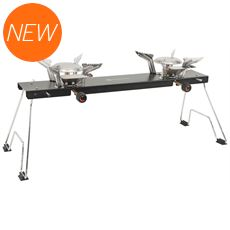 Appetizer Cooker 2-Burner Folding Stove