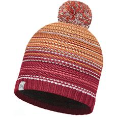 Knitted Hat, Neper (Red Samba/Grey Vigore)