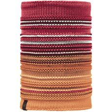 Knitted Neckwarmer, Neper (Red Samba/Grey Vigore)