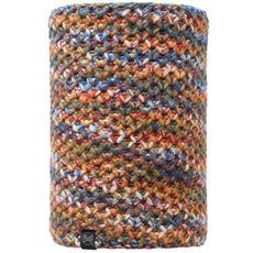 Knitted Neckwarmer, Margo (Orange/Grey Vigore)