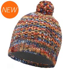 Knitted Hat, Margo (Orange/Grey Vigore)
