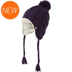 Womens Fur Lined Inca Hat