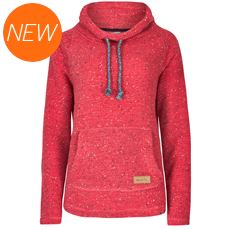 Women's Roskilde Funnel Neck Knitted Fleece Top