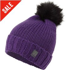 Women's Whistler Fur Pom Pom Hat