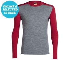 Men's Oasis Long Sleeve Crewe