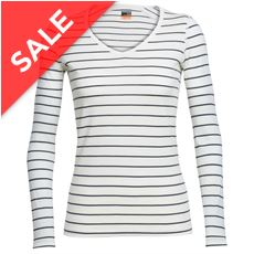 Women's Oasis Long Sleeve V