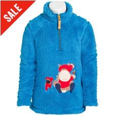 Children's Elsa Fluffy Fleece Sweatshirt