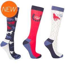 Women's Odelia Horse Design Socks