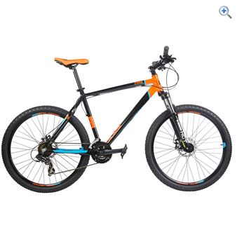 Calibre Crag Mountain Bike - Size: 18 - Colour: BLACK-ORANGE