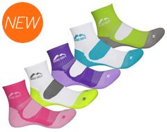 London Ladies Running Socks (5 Pack)