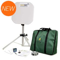 QS65 Portable Satellite TV System