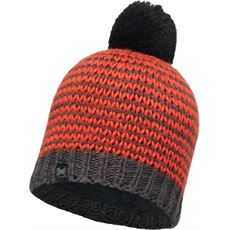 Dorn Flame/Grey Vigore Knitted Hat