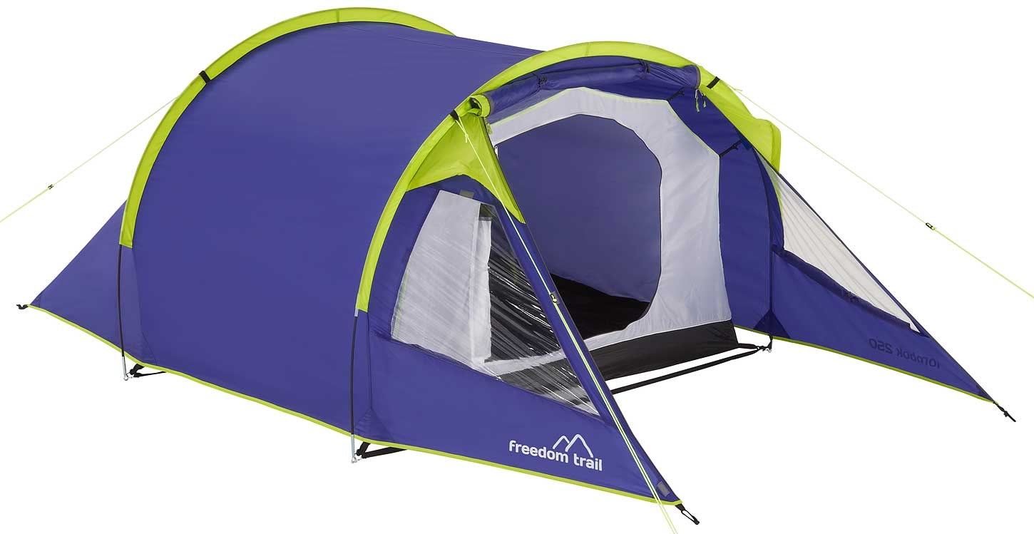 Freedom Trail Lombok 250 Tent  sc 1 st  GO Outdoors & 1 u0026 2 Man Tents | Lightweight Backpacking Tent | GO Outdoors