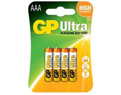 Ultra Alkaline AAA Batteries (4 Pack)