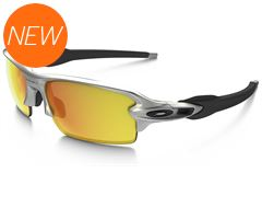 Flak 2.0 Sunglasses (Silver/Fire Iridium)