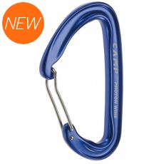 Photon Wire Straight Gate Carabiner (Blue)