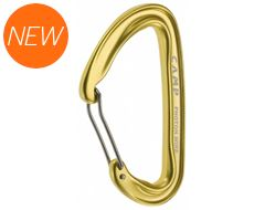 Photon Wire Straight Gate Carabiner (Yellow)
