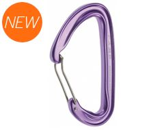Photon Wire Straight Gate Carabiner (Purple)