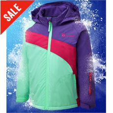 Nollie Girl's Waterproof Ski jacket