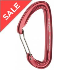 Photon Wire Straight Gate Carabiner (Red)