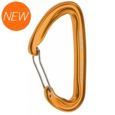 Photon Wire Straight Gate Carabiner (Orange)