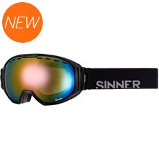 Mohawk Ski Goggles (Clear Matte Black/Double Red Revo & Double Orange)