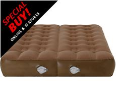 Active Dual Chamber Airbed