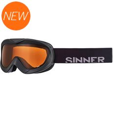 Task Ski Goggles (Clear Matte Black/Double Orange)