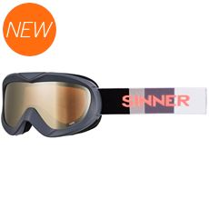 Task Ski Goggles (Clear Matte Grey/Double Orange Mirror)