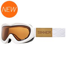 Task Ski Goggles (Clear Matte White/Double Orange)