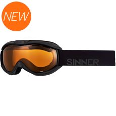 Toxic Ski Goggles (Clear Matte Black/Double Orange)
