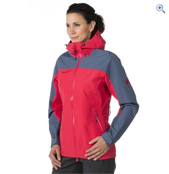 Mammut Womens Kira Jacket  Size L  Colour Pink