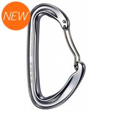 Photon Wire Bent Gate Carabiner