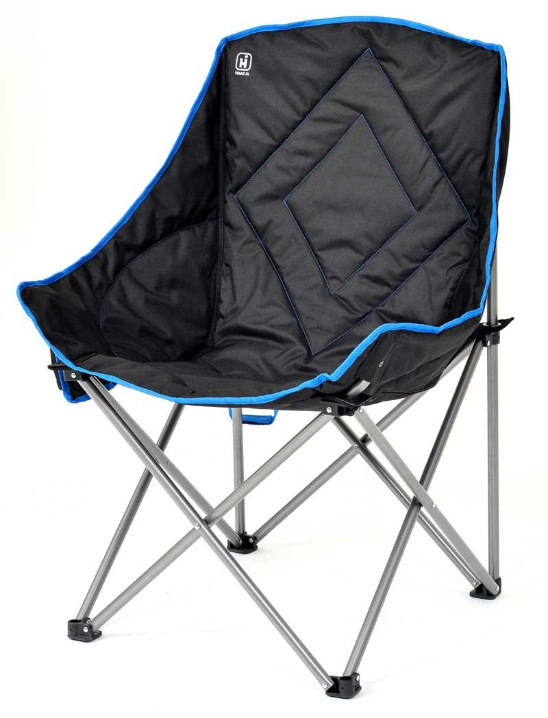 pockets falcon luxury seat outdoor chair with deluxe chairs padded itm folding camping