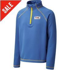 Kid's Eira Grid Fleece