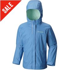 Arcadia Girls' Waterproof Jacket