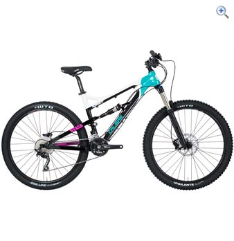Calibre Bossnut Ladies Mountain Bike - Size: 17 - Colour: Black - White