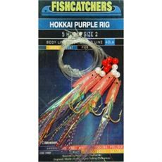 Fishcatcher 5 Hook Hokkai Purple Rig 2