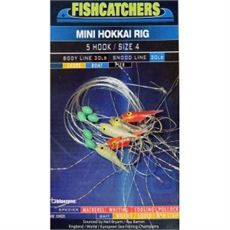 Fishcatcher 5 Hook Mini Hokkai Rig 4