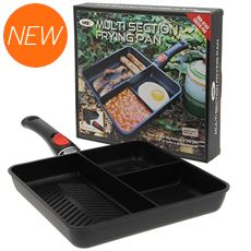 3 Way Outdoor Frying Pan (with Removable Handle)