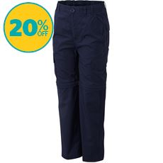 Nebraska Zip-Off Kids' Walking Trousers