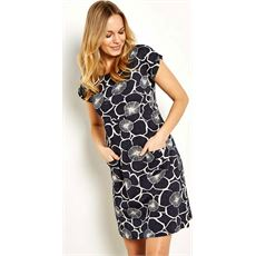 Tallahassee Printed Cotton Jersey Dress