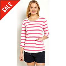 Women's Bollywood Stripe Long Sleeve T-Shirt