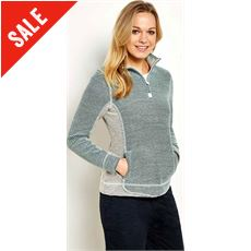Emmie 1/4 Zip Active Macaroni Women's Sweatshirt