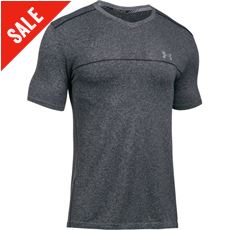 Men's Run Seamless V-Neck T-Shirt