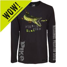 'Hungry Pike' Long Sleeve T-Shirt