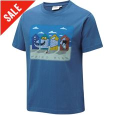 Kids' Beach Huts Tee